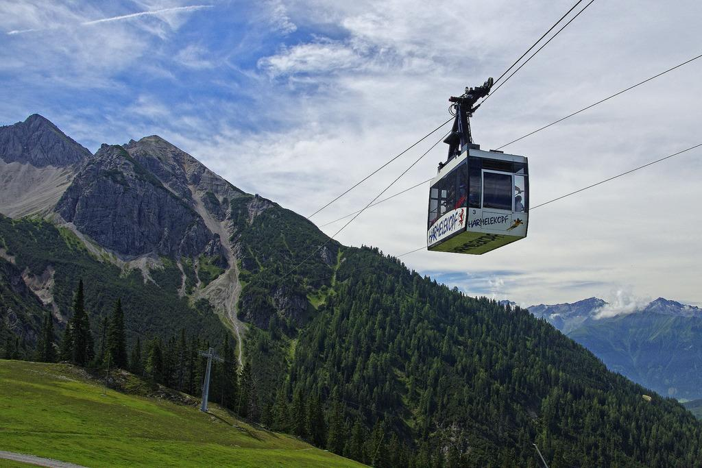 Image result for cable car in seefeld