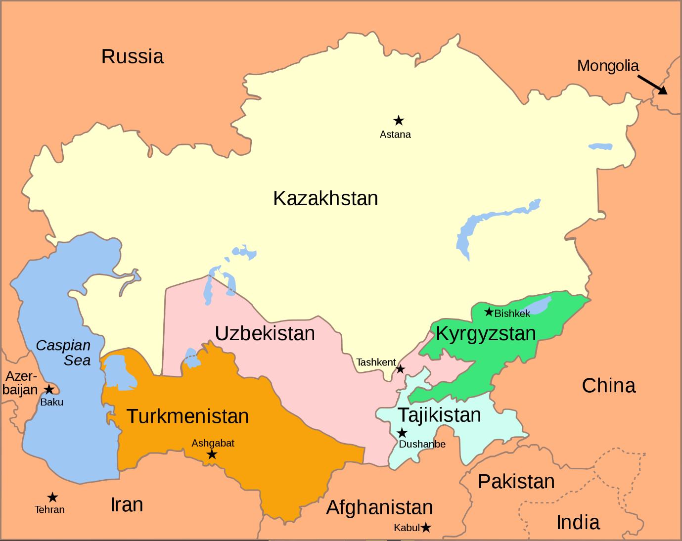 identify republic of kyrgyzstan