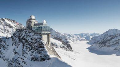 Photo of قمة يونغفراو الثلجية في سويسرا