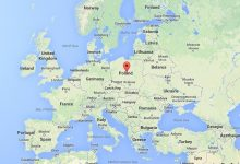 Image result for poland location on map
