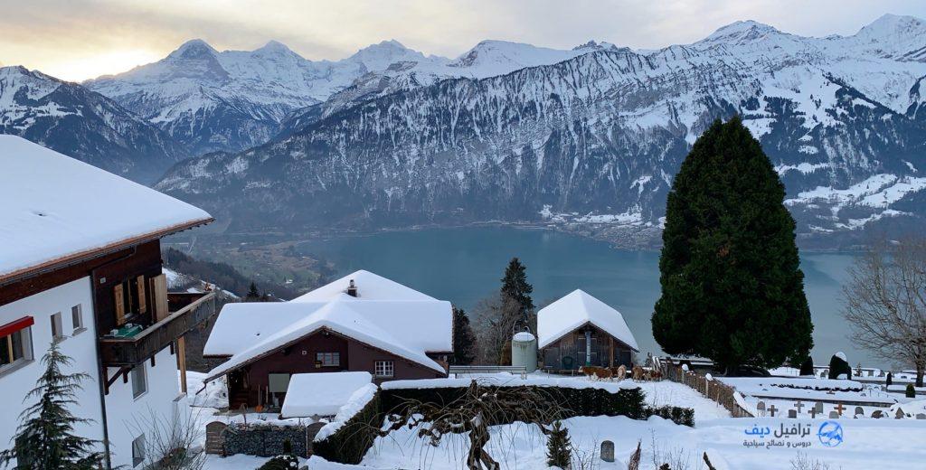تقرير رحلتي الشتوية الى سويسرا - ترافيل ديف